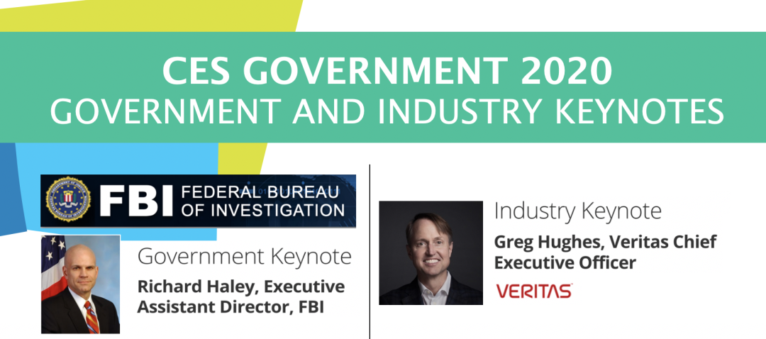 CES Government 2020 Industry and Government Keynotes Announced